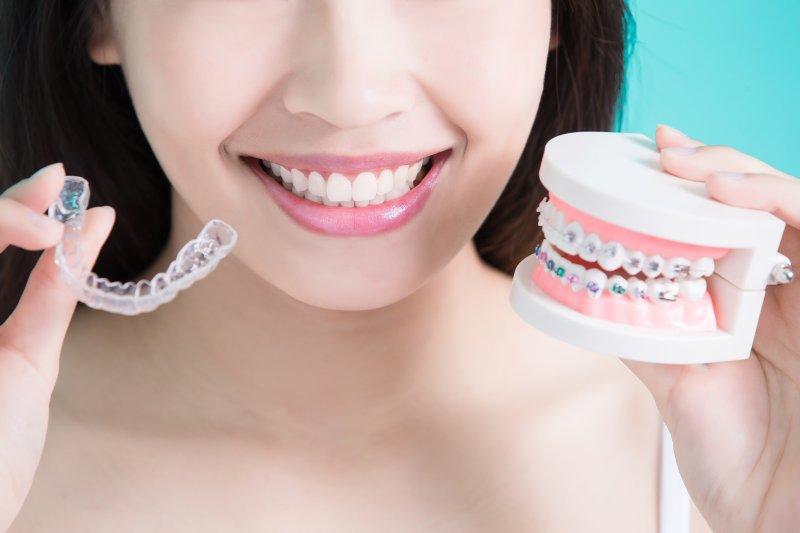 Invisalign vs. braces